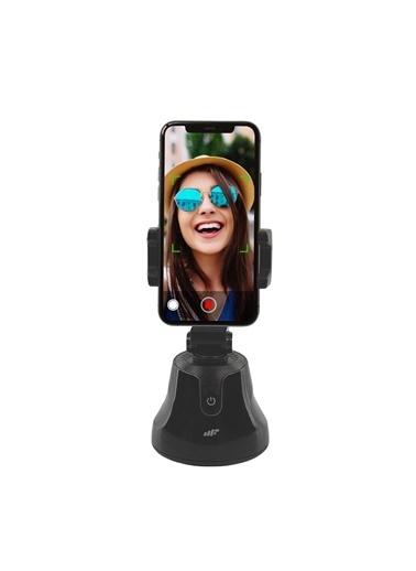 MF Product MF Product Fit N Joy 0547 360 Derece Yüz Takip Telefon Tutucu Smart Gimbal Siyah